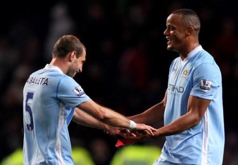 «Манчестер Юнайтед»  проиграл «Манчестеру Сити» -1:0.  Фоторепортаж и видео  с матча. Фото:  Michael Regan/Getty Images