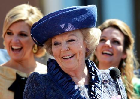 День королевы в Нидерландах. Королева Нидерландов Беатрис (Beatrix).  Фоторепортаж. Фото: Jasper Juinen/Getty Images