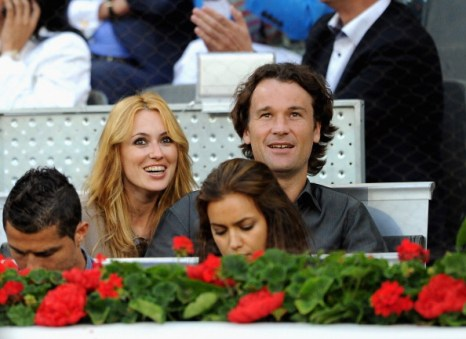 Криштиану Роналду и  Ирина Шейк посетили теннисный турнир. Фоторепортаж с Madrid Masters Open. Фото  DANI POZO/AFP/Getty Images