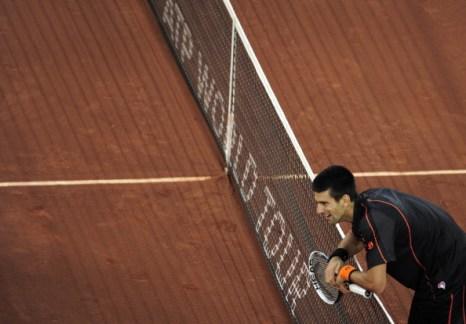 Рафаэль Надаль в финале Madrid Open уступил Новаку Джоковичу. Фоторепортаж с чемпионата. Фото  DANI POZO/AFP/Getty Images