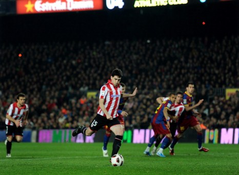 «Барселона» выиграла у «Атлетико» 2:1. Фото: Jasper Juinen/Getty Images