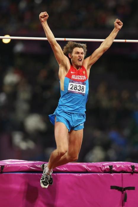 Иван Ухов, российский прыгун в высоту, стал Олимпийским чемпионом. Фоторепортаж. Фото:  Jamie Squire/Getty Images