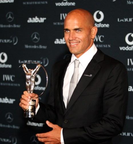 Церемония вручения премии Laureus в Абу Даби. Фото: Jamie McDonald/Clive Mason/KARIM SAHIB/AFP/Getty Images