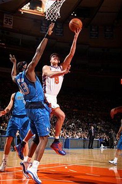 Баскетбол.  Матч «Даллас Маверикс» - «Нью-Йорк Никс» сыгран со счетом 113:97.  Фоторепортаж. Фото: Nathaniel S. Butler/NBAE via Getty Images