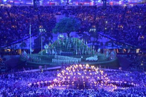 Открытие  Олимпийских Игр  «Лондон-2012» смотрели в Австралии. Фоторепортаж. Фото: Scott Barbour, Quinn Rooney /Getty Images