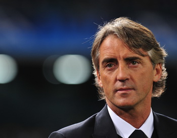 Роберто Манчини (Roberto Mancini). Фото:  ALBERTO PIZZOLI/AFP/Getty Images