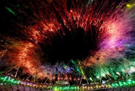 Фоторепортаж о  церемонии закрытия   Олимпийских игр в Лондоне. Часть 1 Фото: Christof Koepsel/Getty Images