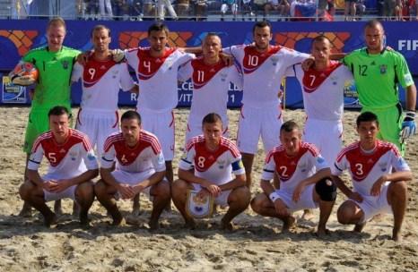 Сборная России по пляжному футболу. Фото: images.yandex.ru