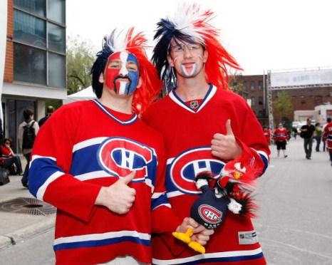 Болельщики ХК «Монреаль». Фото: Richard WOLOWICZ/Getty Images