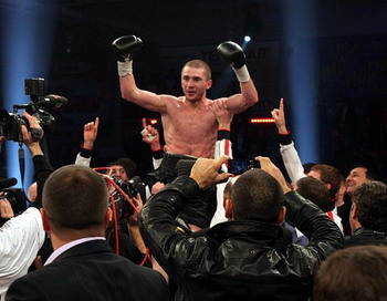 Заурбек Байсангуров стал чемпионом мира по версии IBO. Фото с сайта k2ukraine.com