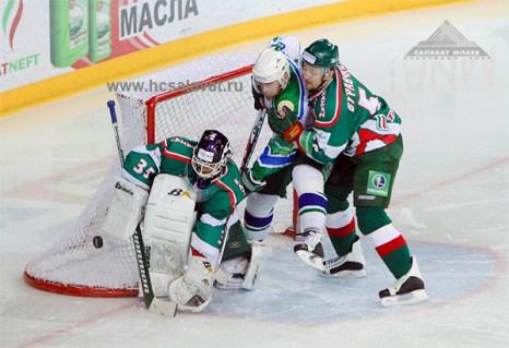 «Салават Юлаев» - «Ак Барс». Фото с сайта hcsalavat.ru