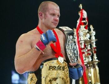 Федор Емельяненко возвращается в клетку. Фото с сайта mixfight.ru