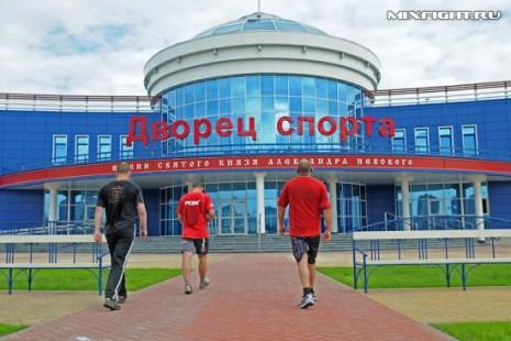 Возвращение бойцов с утренней пробежки. Фото с сайта mixfight.ru