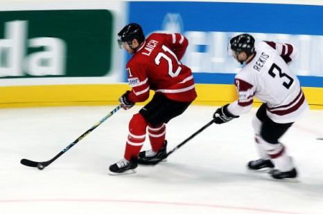 Канада – Латвия. Фото: Alex GRIMM/Bongarts/Getty Images
