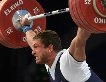 Россияне выиграли ЧЕ по тяжелой атлетике в общекомандном зачете. Фото: Alexey GROMOV/AFP/Getty Images