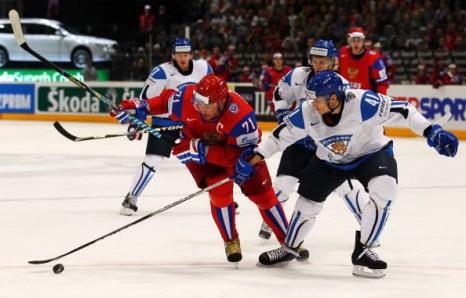 Сборная России - Сборная Финляндии. Фото: Lars BARON/Bongarts/Getty Images