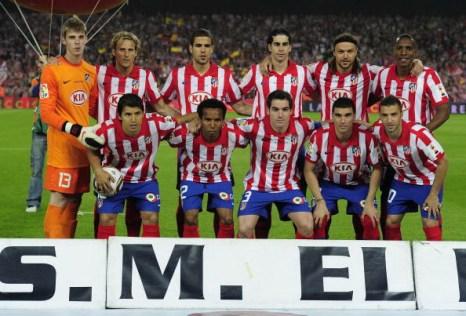 Мадридский «Атлетико». Фото: Josep LAGO/AFP/Getty Images