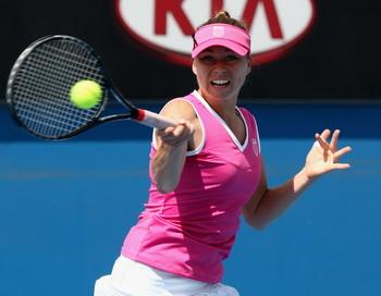 Вера Звонарева вышла в  1/8 финала Открытого чемпионата Австралии. Фото: Quinn Rooney/Getty Images