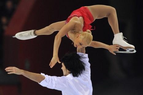 Мария Мухортова и Максим Траньков. Фото: Yuri  KADOBNOV/AFP/Getty Images