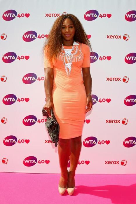 Серена Уильямс на праздновании 40-летия WTA в Лондоне. Фото: Julian Finney/Getty Images