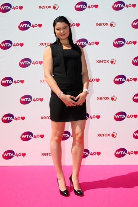 Российская теннисистка Динара Сафина на праздновании 40-летия WTA в Лондоне. Фото: Julian Finney/Getty Images