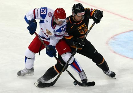 Россияне обыграли Германию на чемпионате мира по хоккею. Фото: Martin Rose/Bongarts/Getty Images