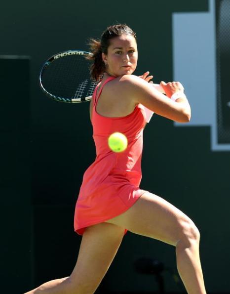 Мария Шарапова вошла в четвертьфинал турнира Индиан-Уэллса. Фото: Stephen Dunn/Getty Images