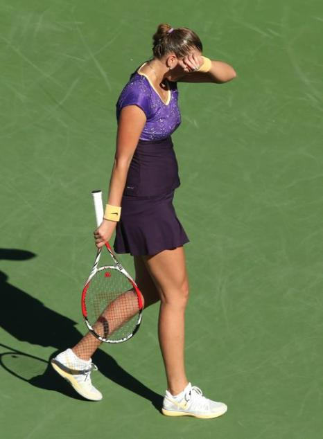 Мария Кириленко обыграла Петру Квитову и вышла в полуфинал. Фото: Stephen Dunn/Getty Images