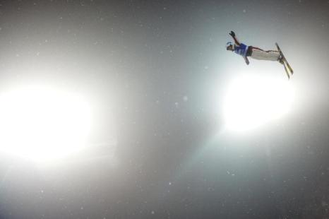 Белорус Денис Осипов, 3 место среди мужчин. Фото: NATALIA KOLESNIKOVA/AFP/Getty Images