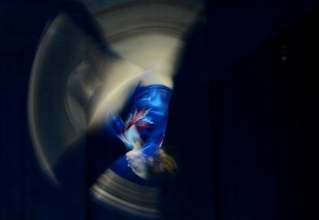 Квалификационные выступления у женщин на ЧЕ по спортивной гимнастике в Москве. Фото: NATALIA KOLESNIKOVA/AFP/Getty Images