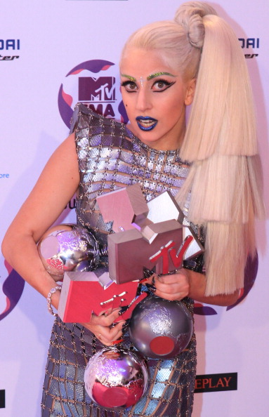 Леди Гага  на MTV Europe Music Awards 2011. Фоторепортаж из Белфаста. Фото: Gareth Cattermole/Getty Images