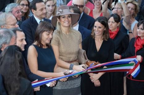 Фоторепортаж о принцессе Максиме на открытии выставки в Риме. Фото: Elisabetta Villa/Getty Images