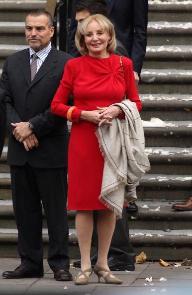 Свадьба Пол Маккартни и Нэнси Шевелл. Фоторепортаж из Лондона. Barbara Walters. Фото: Danny Martindale/Getty Image