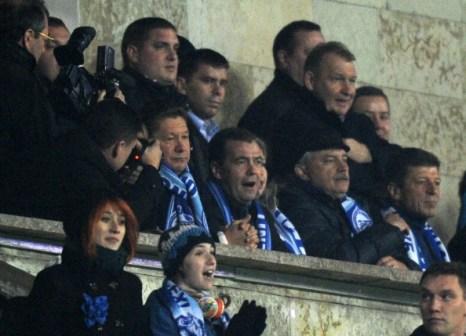 «Зенит» победил «Шахтера» со счетом 1:0. Фоторепортаж с матча. Фото: KIRILL KUDRYAVTSEV/AFP/Getty Images