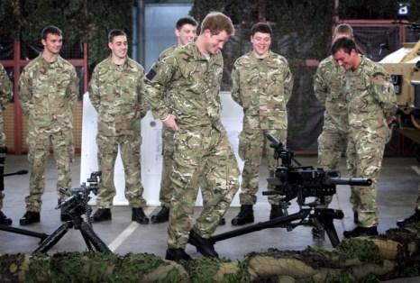 Принц Гарри посетил королевские воздушные войска в Honington. Фоторепортаж. Фото: Chris Jackson / Getty Images