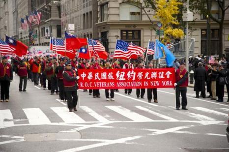 В День ветеранов в Нью-Йорке прошел грандиозный парад. Фото: Дай Бин/The Epoch Times