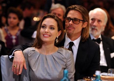 Анджелина Джоли и Брэд Питт на фестивале фильмов Berlinale-2012. Фоторепортаж. Фото: Pascal Le Segretain/Getty Images for Cinema for Peace