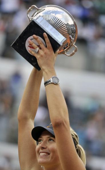 Мария Шарапова выиграла Римский теннисный турнир. Фоторепотаж с  Romes Foro Italico, Фото:  Clive Brunskil/FILIPPO MONTEFORTE/ANDREAS SOLARO/AFP/Getty Images