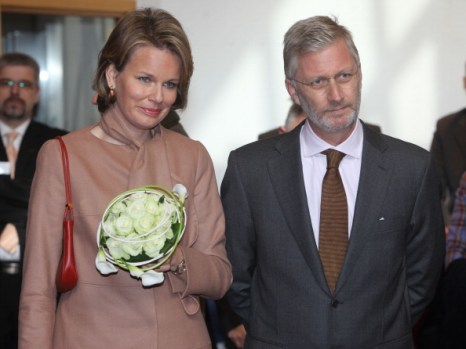 Фоторепортаж о принцессе и принце Бельгии Матильде и Филиппе на ферме дю Монсо. Фото: Mark Renders/Getty Images