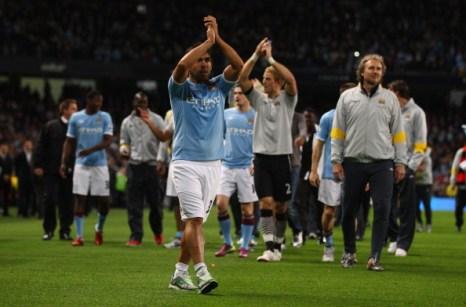 Кубок Англии  выиграл «Манчестер Сити». Фоторепортаж с матча «Манчестер Сити»  - «Сток Сити».  Фото: Clive Brunskill/Getty Images