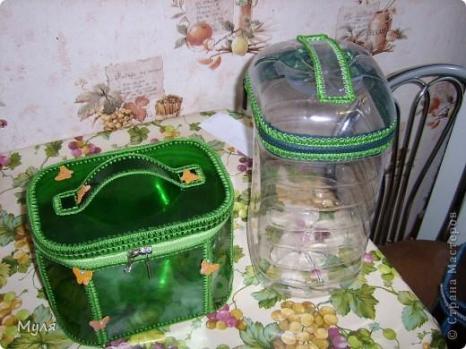 Поделки из пластиковых бутылок. Фото с сайта liveinternet.ru