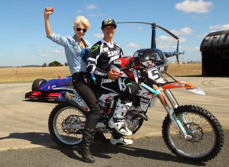 Робби Маршалл (Robbie Marshall) и Кейт Пек (Kate Peck). Фоторепортаж  из  Мельбурна.  Фото:  Scott Barbour/Getty Images