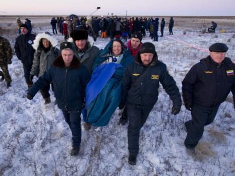 Фоторепортаж о возвращении 29-й экспедиции МКС на Землю. Фото: Bill Ingalls/NASA via Getty Images