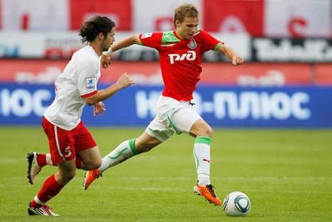 «Локомотив» победил «Спартак» Нальчика со счетом 2:1. Фото с сайта  fclm.ru