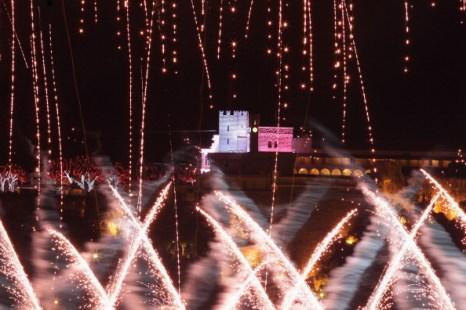 Фейерверк и световое шоу в честь князя Монако  Альберта II  и  его жены – принцессы  Шарлин. Фото: Dean Mouhtaropoulos/Pascal Le Segretain/ Richard Heathcote/Getty Images