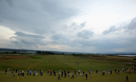 Фоторепортаж о подготовке к чемпионату по гольфу Barclays Scottish Open. Фото: Warren Little/Getty Images