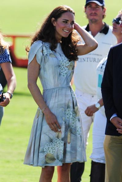 Герцог и герцогиня Кембриджские в Санта-Барбаре встретились со звездами Голливуда и другими знаменитостями. Фото: Chris Jackson/ROBYN BECK/AFP/Getty Images