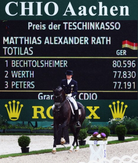 Второй раунд конкура и выездки на конном шоу ЧИО-2011. Фоторепортаж из Аахена. Фото: Alex Grimm/Bongarts/Getty Images