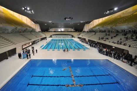 Фоторепортаж из Олимпийского бассейна в Лондоне. Фото: Ben Stansall - WPA Pool/Getty Images