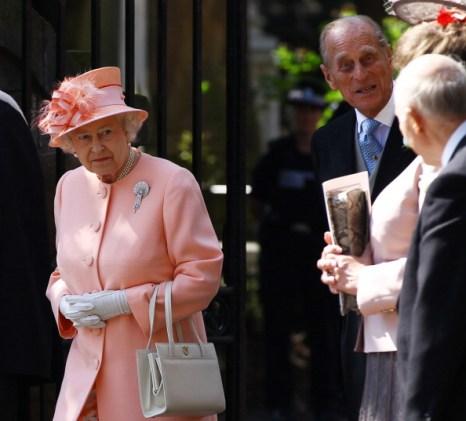 Королева  Елизавета II на свадьбе своей внучки Зары Филиппс. Фото: Chris Jackson PT /Jeff J Mitchell/Getty Images